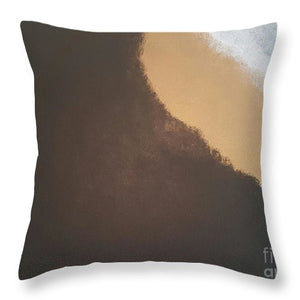 Throw Pillow - Midnight Sandstorm