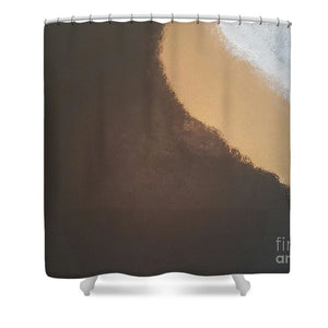 Shower Curtain - Midnight Sandstorm