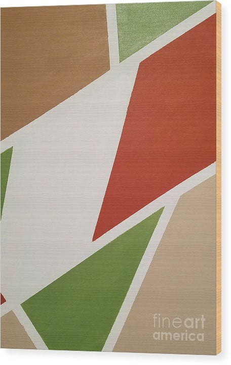 Wood Print - Neutral Zone