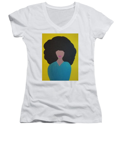 Nina - Women's V-Neck T-Shirt (Junior Cut)