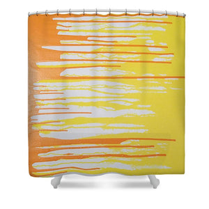 Orangesicle - Shower Curtain