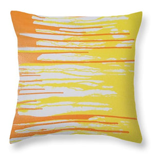 Orangesicle - Throw Pillow