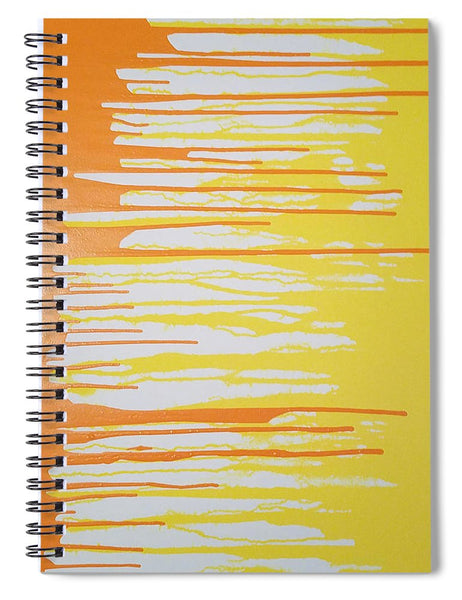 Orangesicle - Spiral Notebook