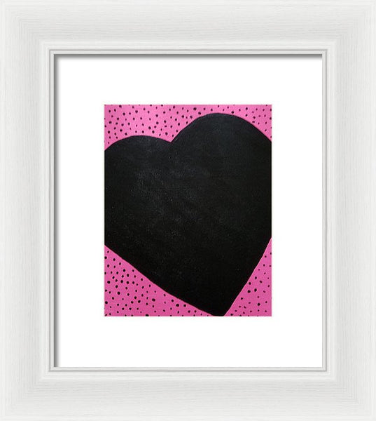 Piece Of My Love - Framed Print