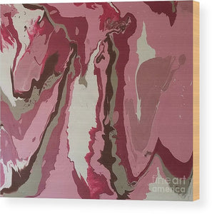 Wood Print - Pink Passion