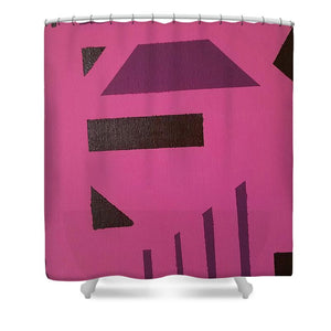 Shower Curtain - Pink Tribe