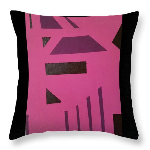 Throw Pillow - Pink Tribe