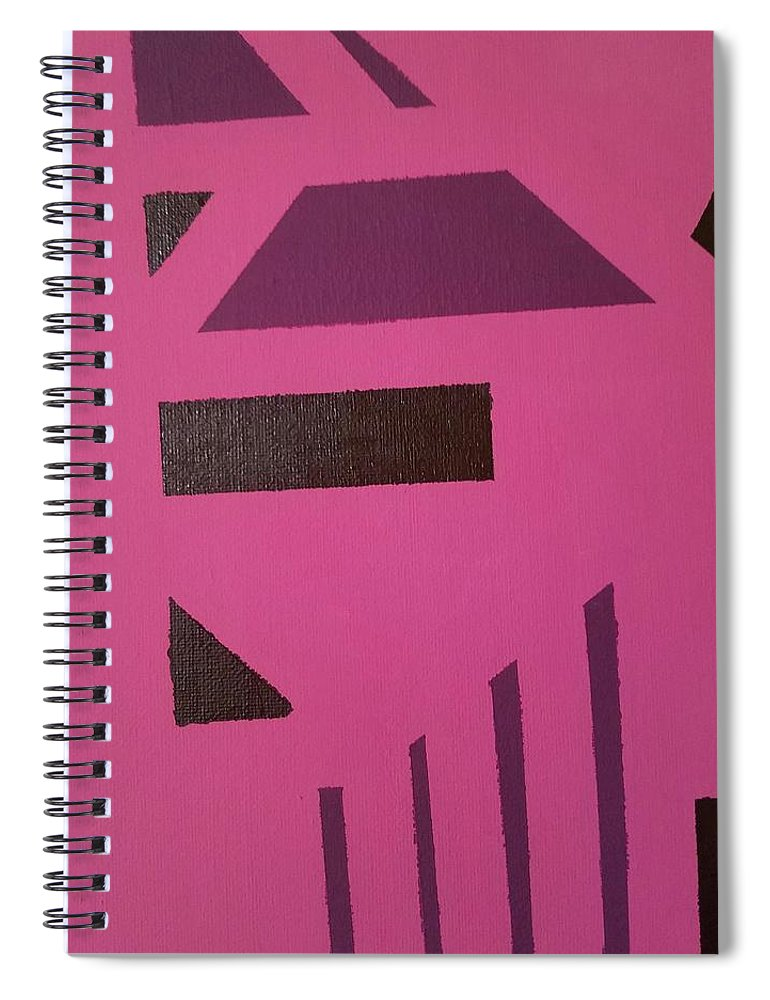 Pink Tribe - Spiral Notebook
