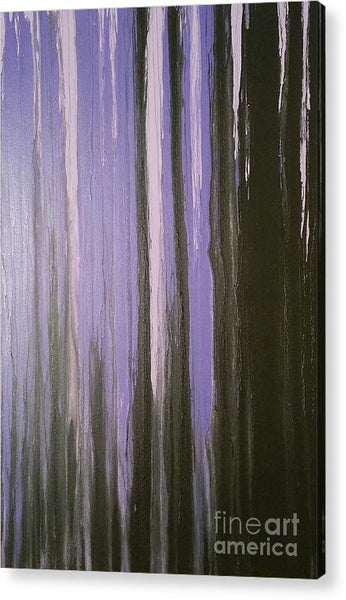 Acrylic Print - Purple Horizon