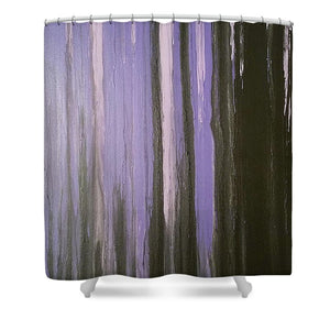 Shower Curtain - Purple Horizon