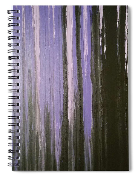 Purple Horizon - Spiral Notebook