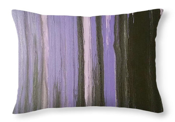 Throw Pillow - Purple Horizon