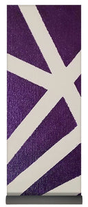 Purple Lines - Yoga Mat