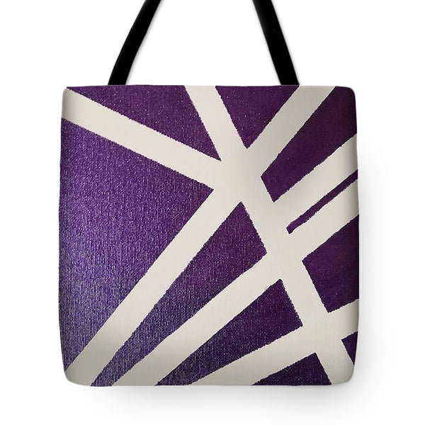 Tote Bag - Purple Lines