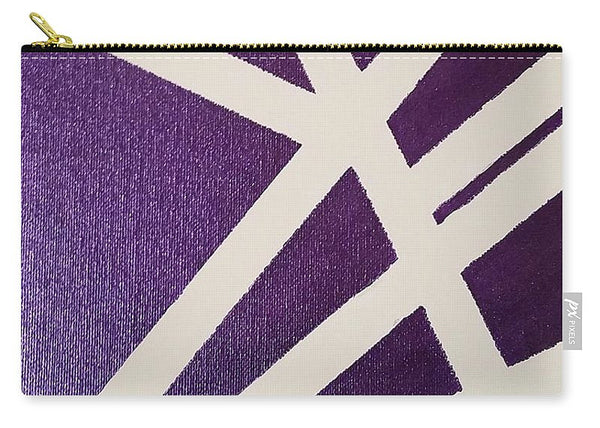 Carry-All Pouch - Purple Lines