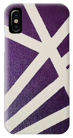 Purple Lines - Phone Case