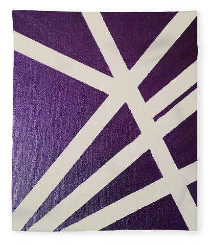 Purple Lines - Blanket