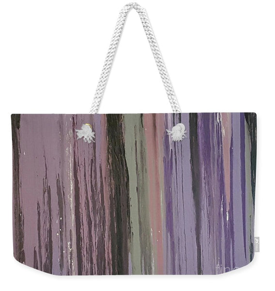 Weekender Tote Bag - Purple Rain
