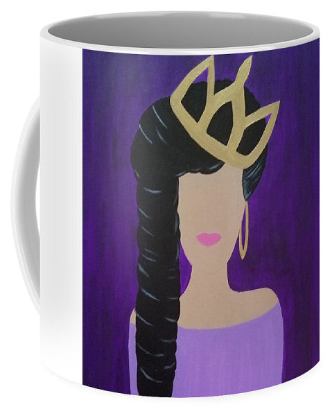 Queen With A Crown - Mug
