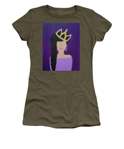 Queen With A Crown - Women's T-Shirt