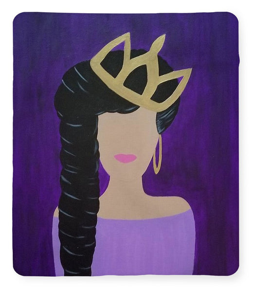 Queen With A Crown - Blanket