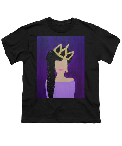 Queen With A Crown - Youth T-Shirt