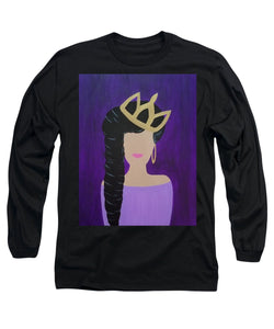 Queen With A Crown - Long Sleeve T-Shirt