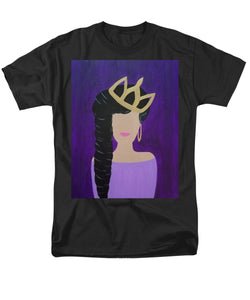 Queen With A Crown - Men's T-Shirt  (Regular Fit)