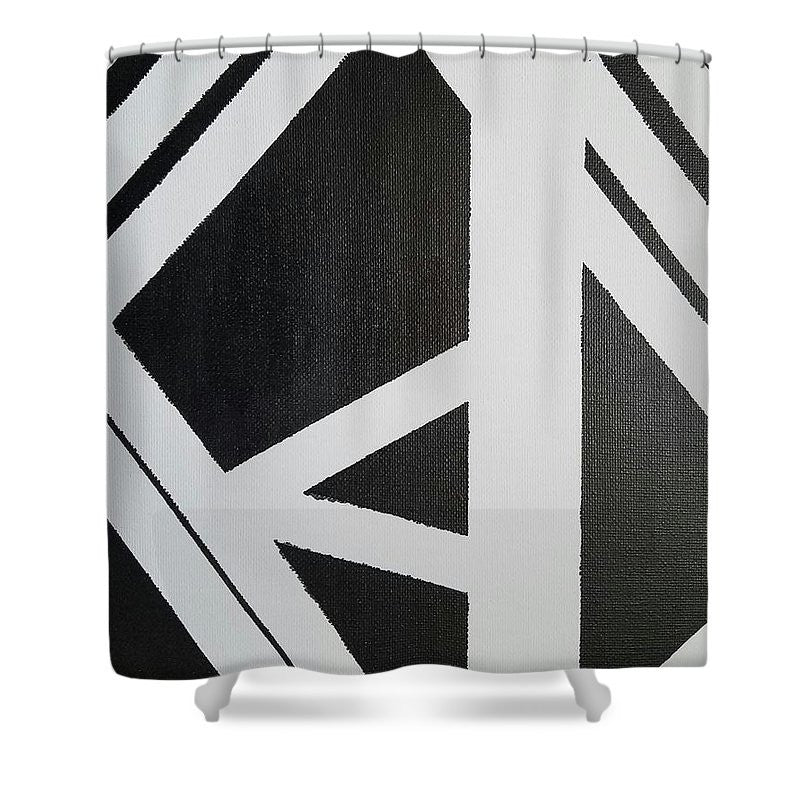 Shower Curtain - Read Between The Lines