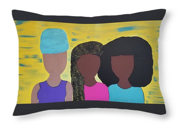 Sister Sister - Throw Pillow