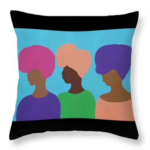 Sisterhood - Throw Pillow