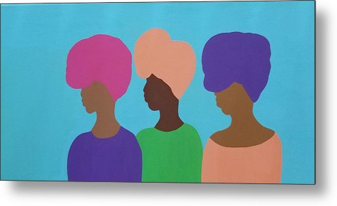 Sisterhood - Metal Print