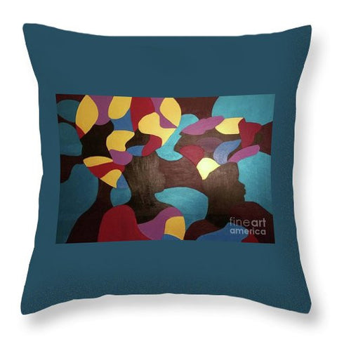 Throw Pillow - Sisters