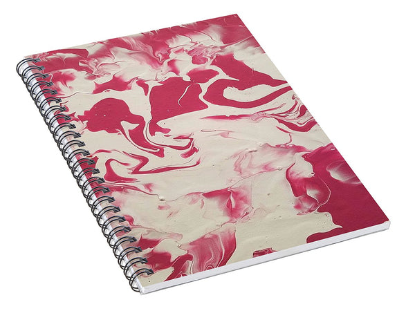 Strawberry Vanilla - Spiral Notebook