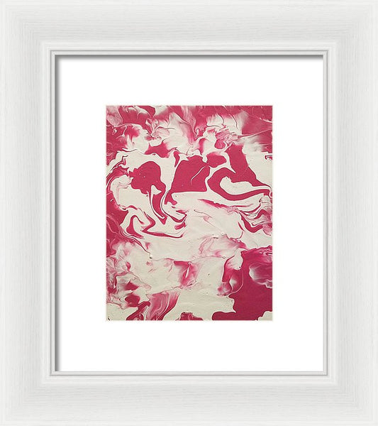 Framed Print - Strawberry Vanilla