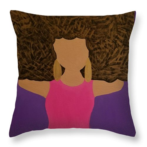 Such A Vivrant Thing - Throw Pillow