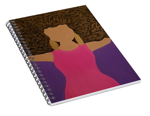 Such A Vivrant Thing - Spiral Notebook