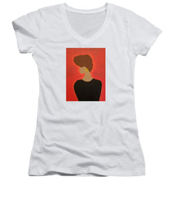 Sunshine - Women's V-Neck T-Shirt (Junior Cut)