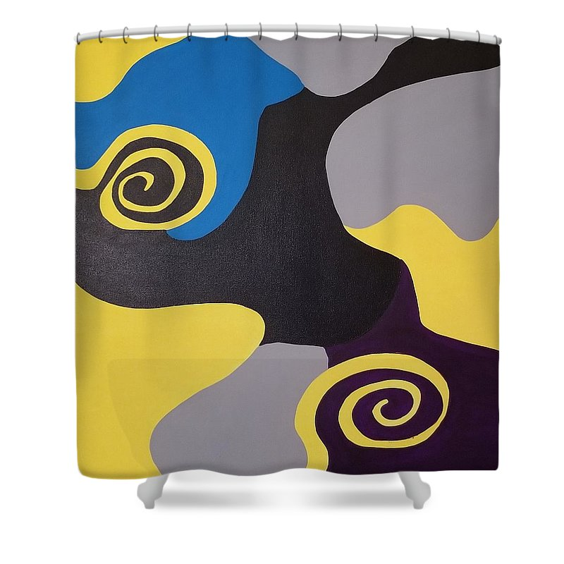 Swirl - Shower Curtain