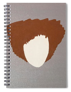 Tapered Swag - Spiral Notebook