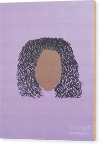 Wood Print - The Color Purple