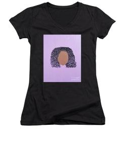 The Color Purple - Women's V-Neck T-Shirt (Junior Cut)