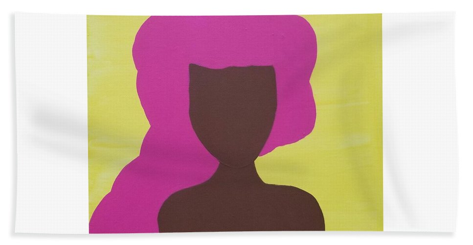 The Pink Lady - Beach Towel
