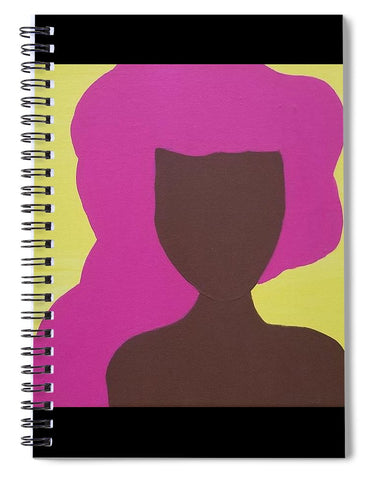 The Pink Lady - Spiral Notebook