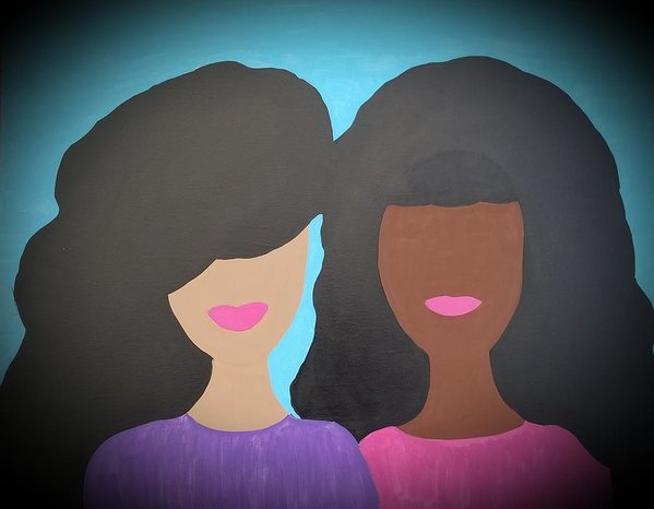 Tia And Tamera - Art Print