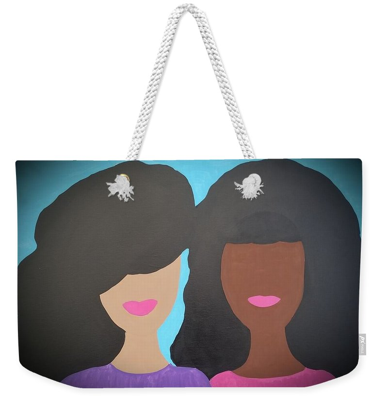 Tia And Tamera - Weekender Tote Bag