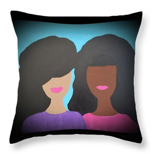 Tia And Tamera - Throw Pillow