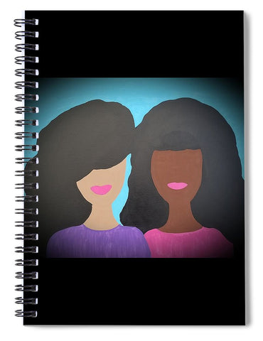 Tia And Tamera - Spiral Notebook
