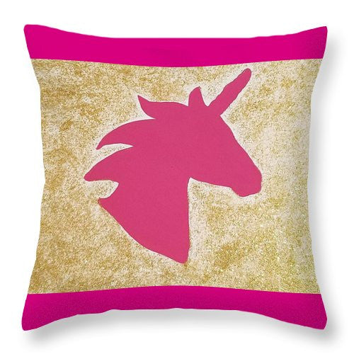 Throw Pillow - Unicorn