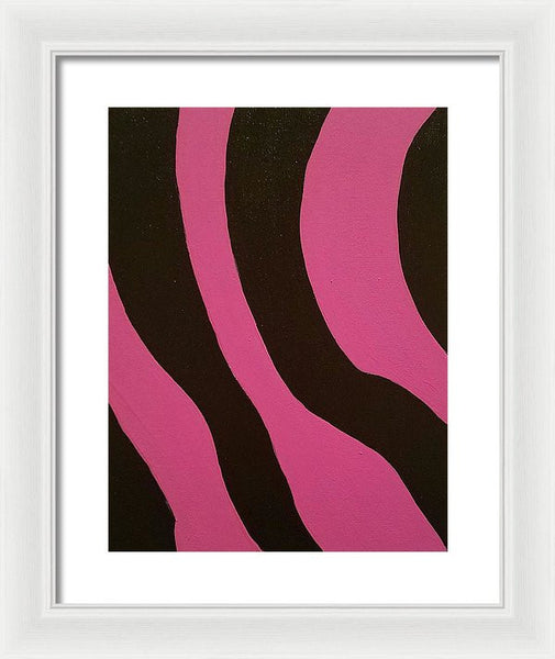 Framed Print - Wild Side Pink
